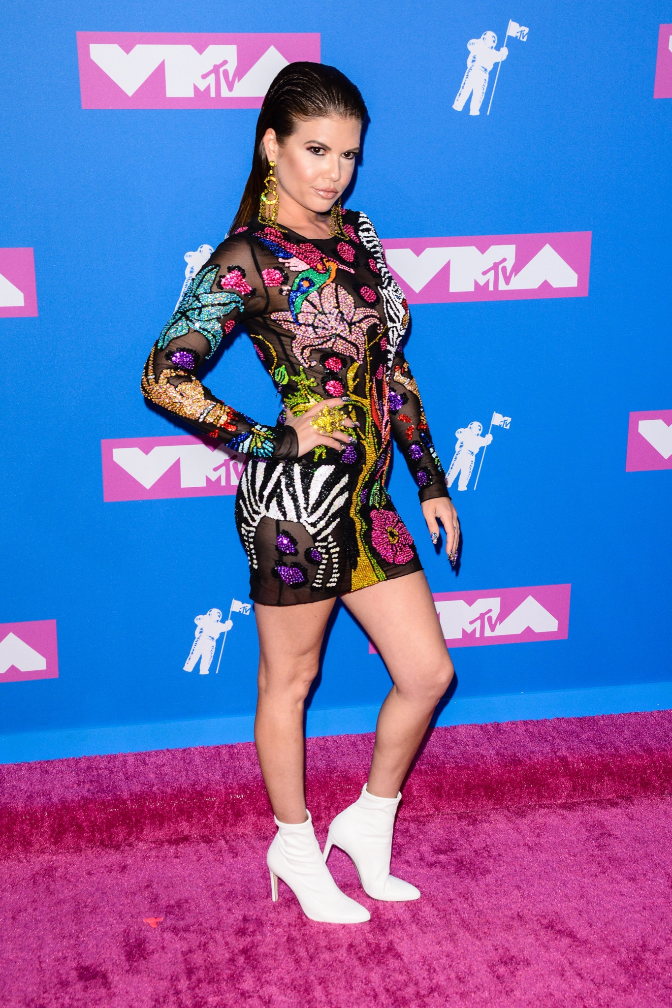 2018 MTV Video Music Awards - Arrivals Featuring: Chanel West Coast Where: NYC, New York, United States When: 20 Aug 2018 Credit: Patricia Schlein/WENN.com