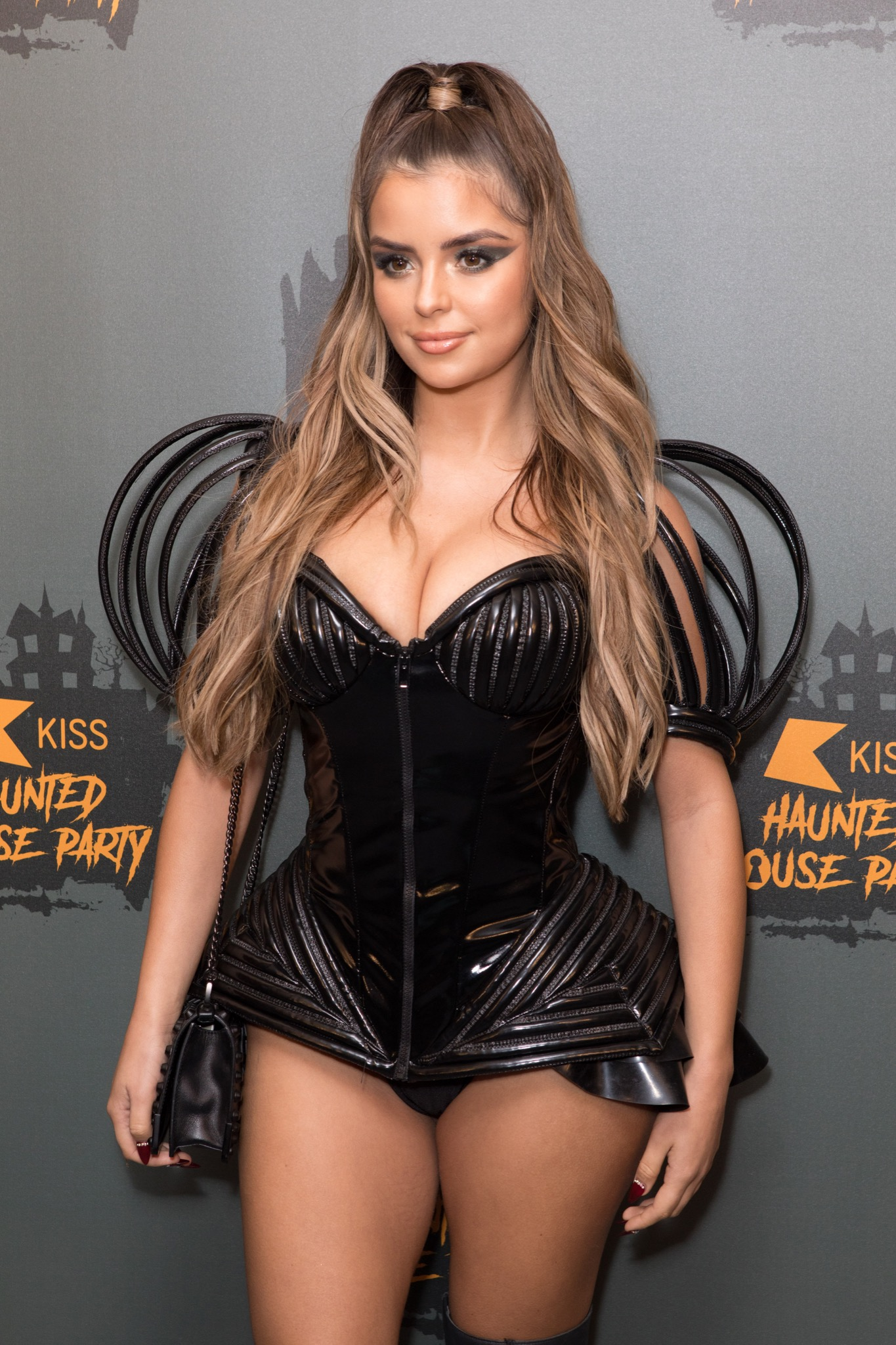 Guest attend at radio station's annual Halloween themed gig/party Featuring: Demi Rose Mawby Where: London, United Kingdom When: 26 Oct 2018 Credit: Phil Lewis/WENN.com