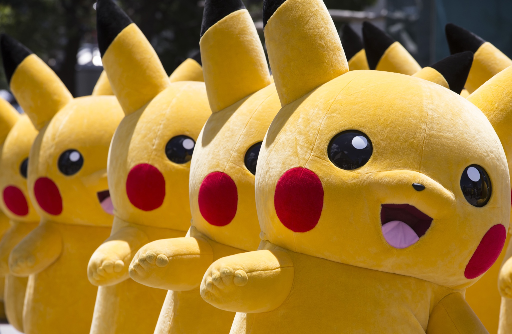 WATCH: Pikachu Tackled By Security At Pokemon Festival Video