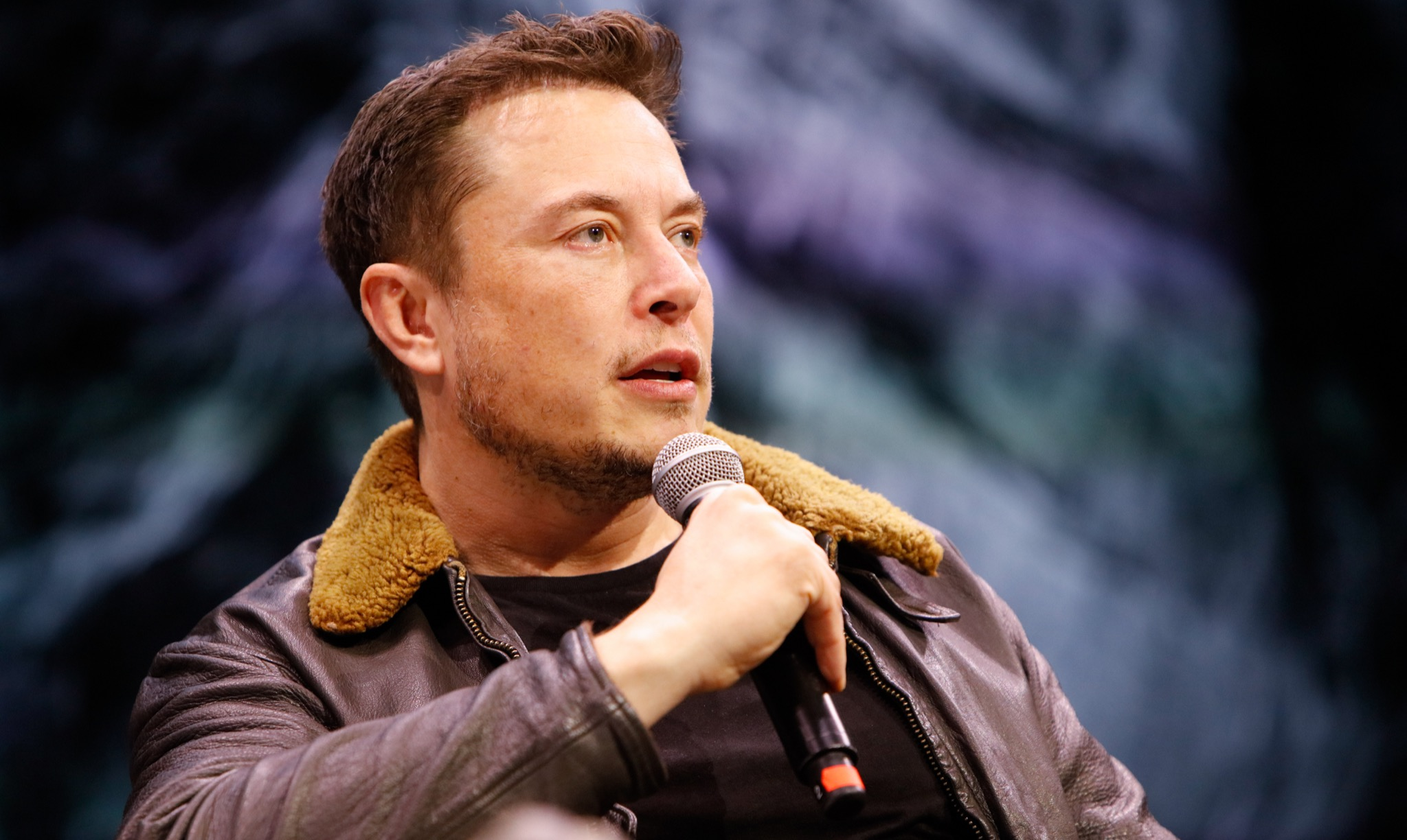Elon Musk during 'Elon Musk Answers Your Questions!' at SXSW