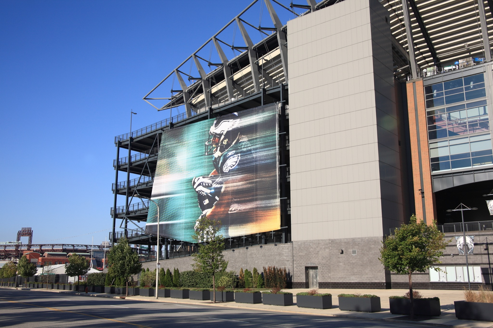 PHILADELPHIA - SEPTEMBER 7: Lincoln Financial Field, home of the National Football League's Eagles on September 7, 2010 in Philadelphia. The stadium opened in 2003, replacing nearby Veterans Stadium. - Image