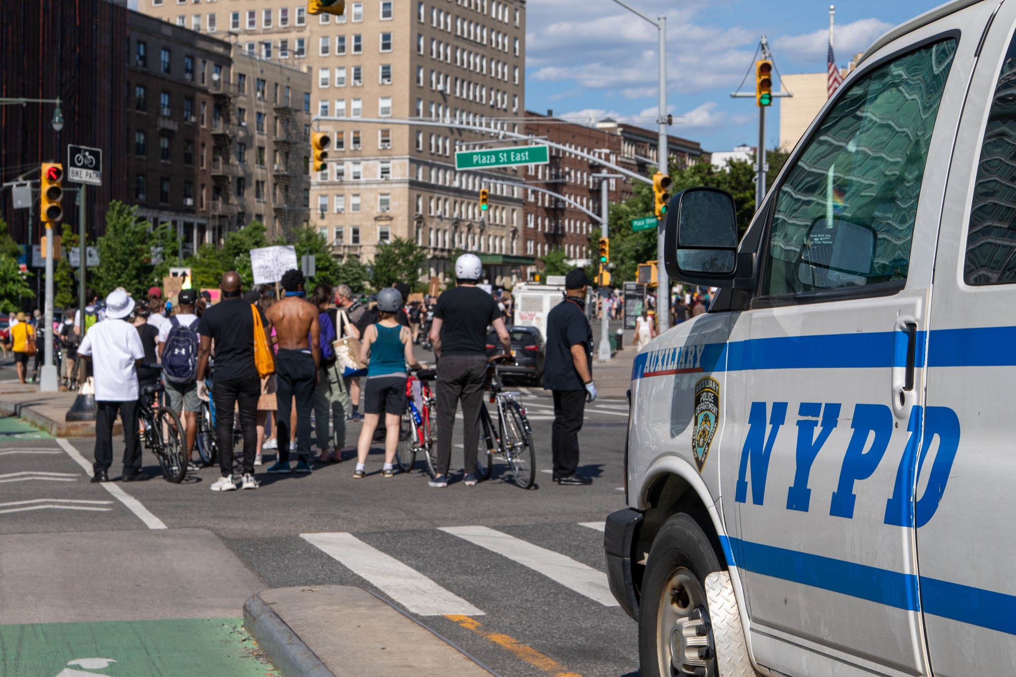 WATCH: Protester Pulled Into Unmarked Van; NYPD Issues Statement