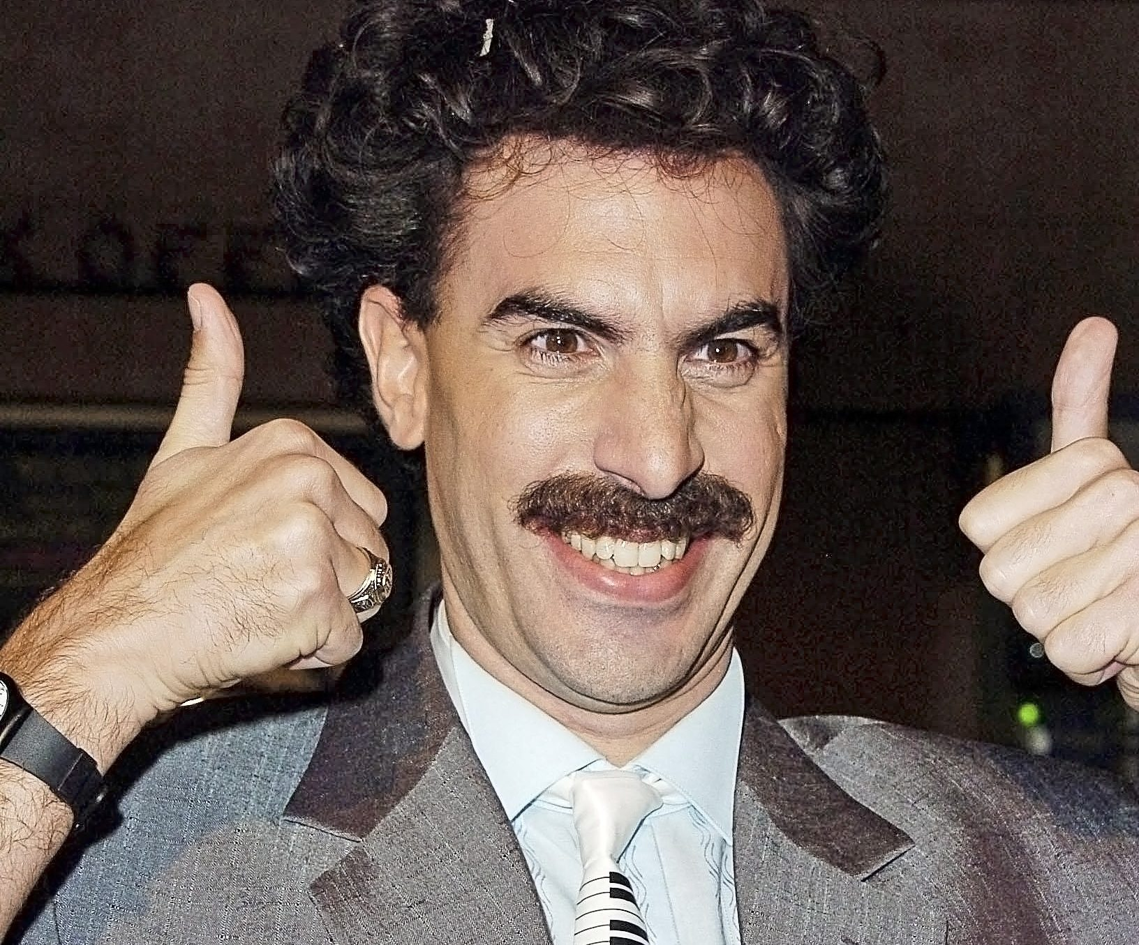 Borat Releases Statement on Rudy Giuliani's 'Innocent Sexy Time'