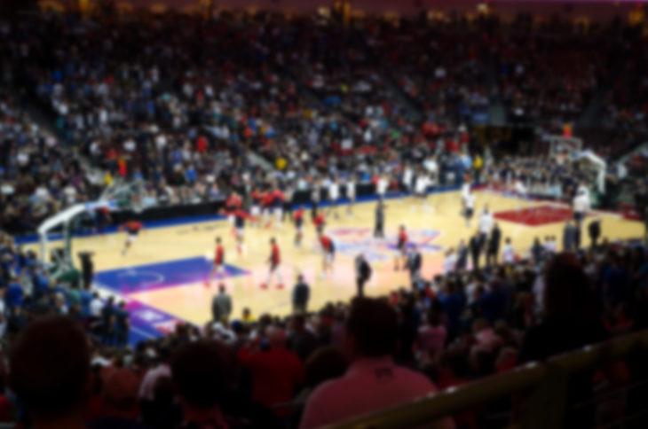 Basketball stadium