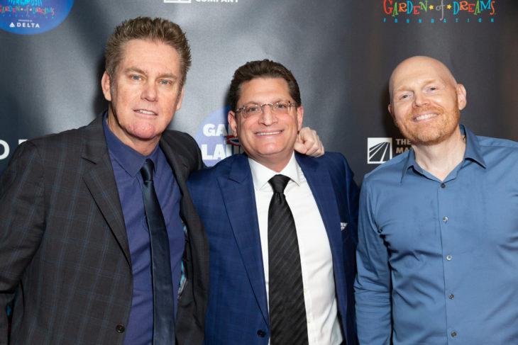 Bill Burr, Brian Regan, and Rory Rosegarten at Garden of Laughs 2019