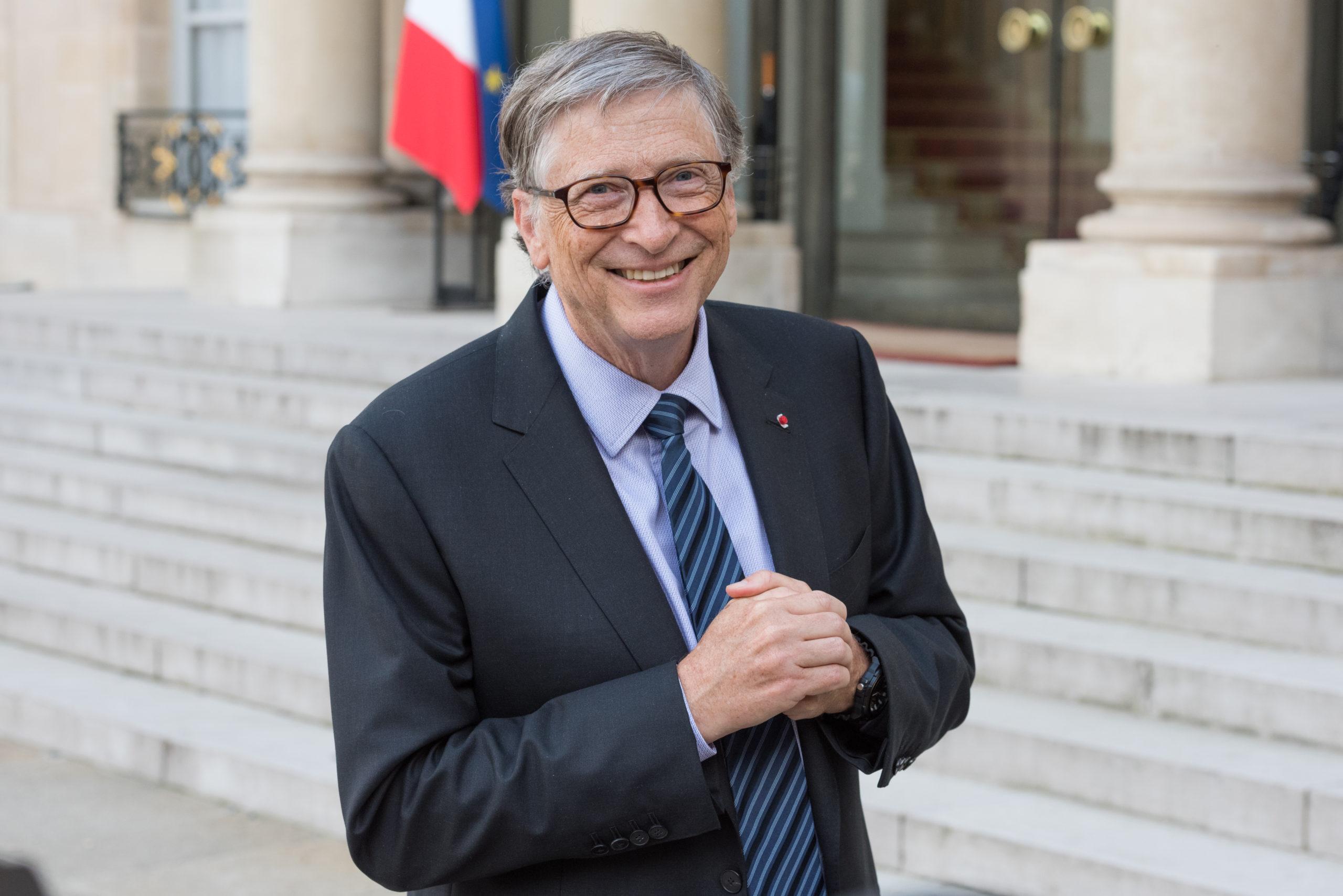 Viral TikTok Shows Bill Gates Watching Himself Get Roasted By Chris Rock